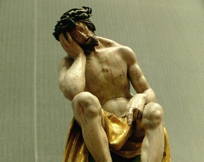 © Bertrand Bolognesi : Leinberger, Christus im Elend, 1525 [Berlin, 2014]