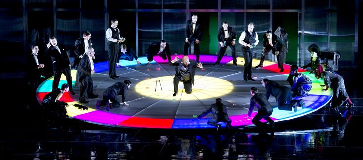 Le joueur, opéra de Prokofiev mis en scène par Harry Kupfer à Francfort