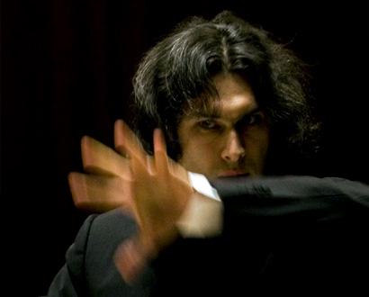 le jeune chef russe Vladimir Jurowski dirige le London Philharmonic à Paris