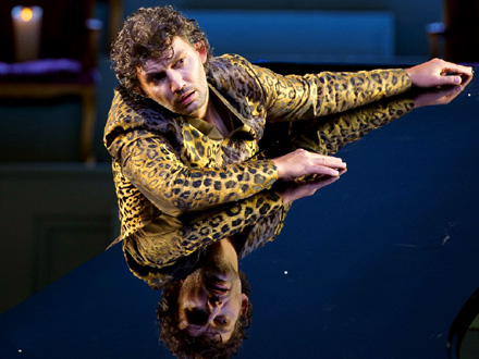 Jonas Kaufmann en Bacchus d'Ariadne auf Naxos, au Salzburger Festspiele 2012
