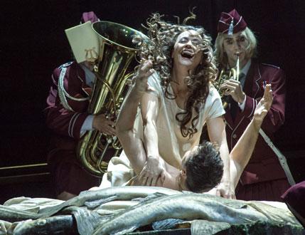 Lady Macbeth de Mzensk, opéra de Chostakovitch à la Deutsche Oper de Berlin