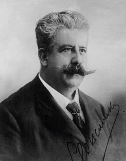 le compositeur italien Ruggero Leoncavallo