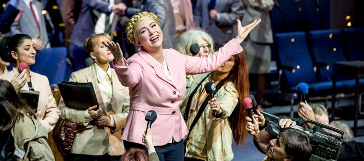 Au Nationaltheater de Mannheim, Annette Dasch est une Elsa surprenante !