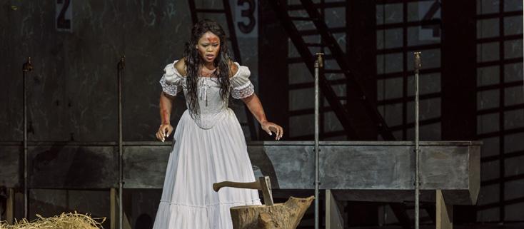 reprise de la Lucia (Donizetti) de Serban à l'Opéra Bastille, octobre 2016