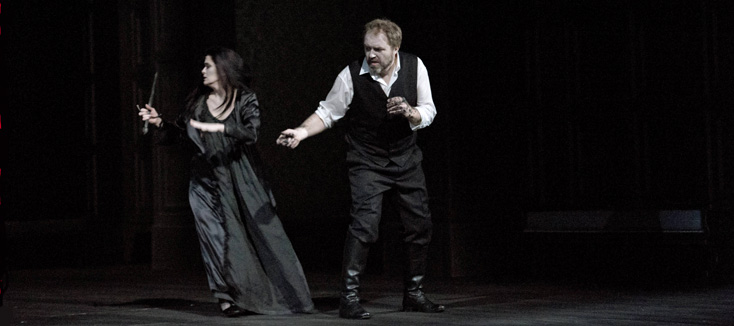 nouveau Macbeth (Verdi) à Genève (photo Monika Rittershaus)