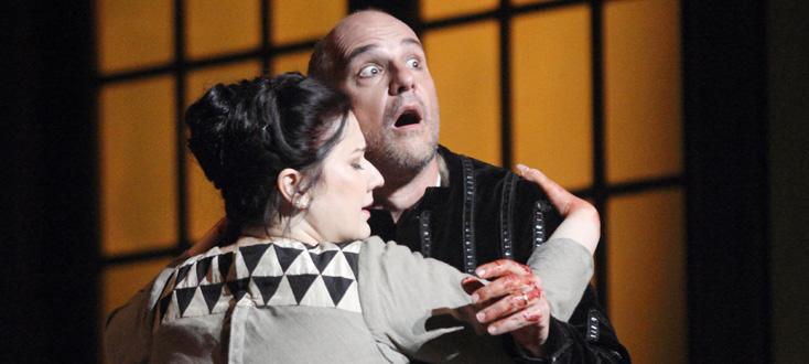 Csilla Boross et Juan Jesús Rodríguez, le couple Macbeth de Verdi à Marseille