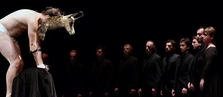 Manfred de Schumann, mis en scène par Sandra Pocceschi et Giacomo Strada