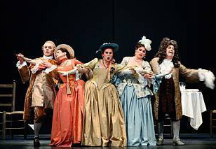 Manon (Massenet) à l'Opéra Bastille (photo Éric Mahoudeau)