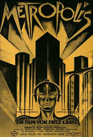 Metropolis de Fritz Lang, 1927, mis en musique par Martín Matalon (1995/2011)