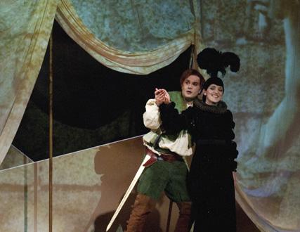 Siegfried et l'anneau maudit, spectacle de l'Ensemble Justiniana