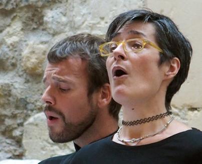 récital Vivabiancaluna Biffi et Marc Mauillon au Musée de Cluny (Paris)