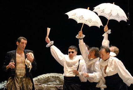 Le médecin malgré lui, opéra de Charles Gounod, joué à Dijon