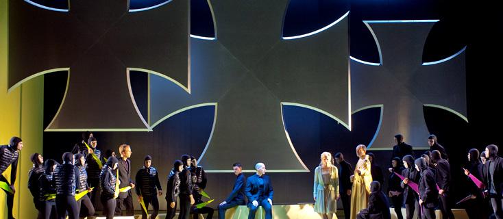 Médée de Charpentier, mis en scène par Pierre Audy au Théâtre des Champs-Élysées