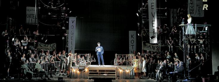 Les maîtres chanteurs (Wagner) à Munich, dont il faut oublier la mise en scène