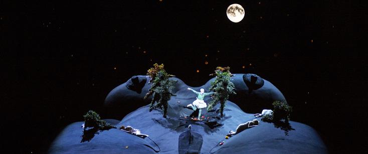à Genève, nouvelle production du trop rare Midsummer night's dream de Brit(ten