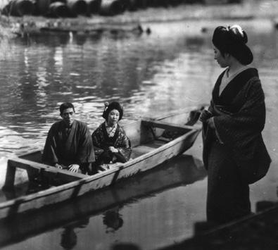 image du Fil blanc de la cascade, film de Kenji Mizoguchi (1933)