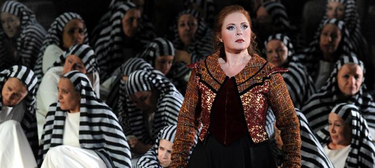 Nabucco, opéra de Giuseppe Verdi, aux Chorégies d'Orange 2014