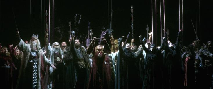 la Norma décidément celte et bien chantée du Teatro Real, à Madrid