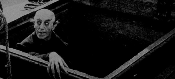 Nosferatu, un film de Murnau qu'accompagne Wolfgang Mitterer à l'orgue