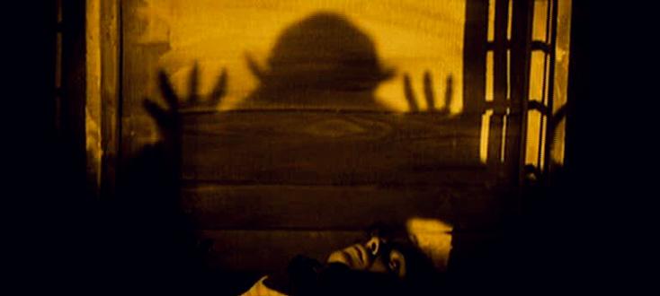 Nosferatu, un film de Murnau qu'accompage Juan de la Rubia à l'orgue