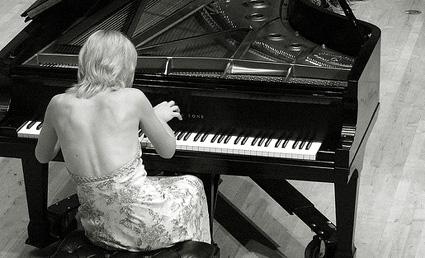 la jeune et talentueuse pianiste russe Olga Kern, en récital au Musée d'Orsay