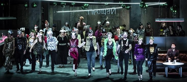 à Strasbourg, une nouvelle production d'Eugène Onéguine (Tchaïkovski)