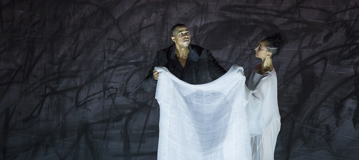 "Davóne Tines dans ""Only the sound remains"" de Saariaho au Palais Garnier"