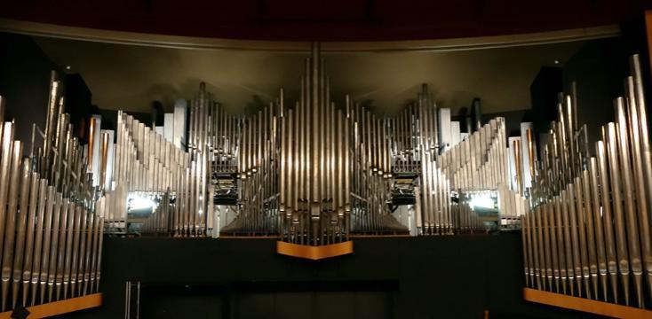 inauguration du grand orgue Cavaillé-Coll Gonzalez Danion Gaillard, à Lyon