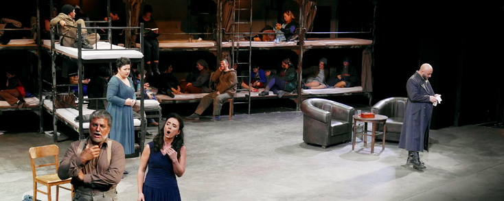 Le passionnant Otello (Verdi) d'Andreas Krigenburg au Liceu (Barcelone) !