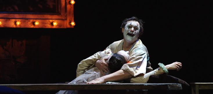 Vladimir Galouzine dans Pagliacci (Leoncavallo) à l'Opéra Bastille