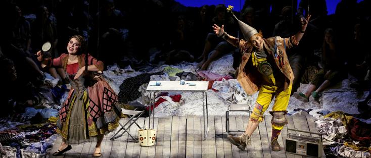 I Pagliacci (Leoncavallo) vu par Pierre-Émile Fourny à l'Opéra-Théâtre de Metz