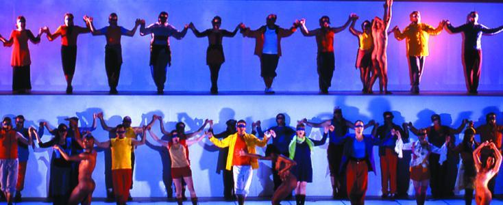 Les paladins, comédie-ballet de Jean-Philippe Rameau au Châtelet (Paris)