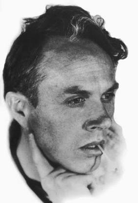 le compositeur nord-américain Harry Partch, dans les années trente