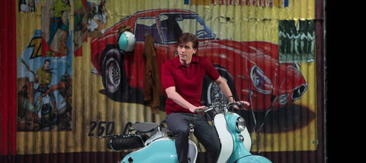 le jeune Juan Francisco Gatell dans Don Pasquale (Donizetti) à Toulouse