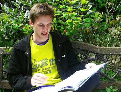 je jeune compositeur irlandais Sam Perkin, étudiant du CNSMD de Lyon