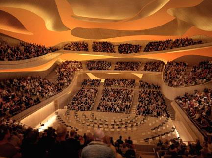 l'atelier de Jean Nouvel montre virtuellement la future Philharmonie de Paris