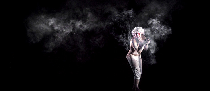 Damien Bigourdan dans Pierrot lunaire, mélodrame d'Arnold Schönberg