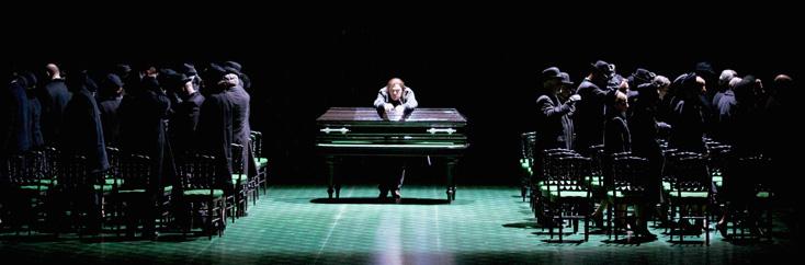 La dame de pique de Tchaïkovski mis en scène par Robert Carsen à Zürich
