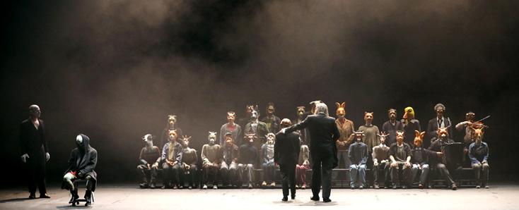 au Festival d'Aix-en-Provence, création mondiale de Pinocchio, opéra de Boesmans