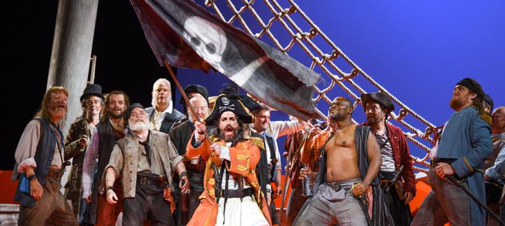 Caen présente les drôles de Pirates of Penzance d'Arthur Sullivan
