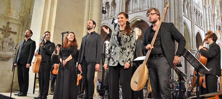 Le poème Harmonique, en concert à l'Abbaye de Saint-Michel en Thiérache