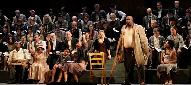 Philipp Harnoncourt met en scène Porgy and Bess (Gershwinà à La Scala (Milan)