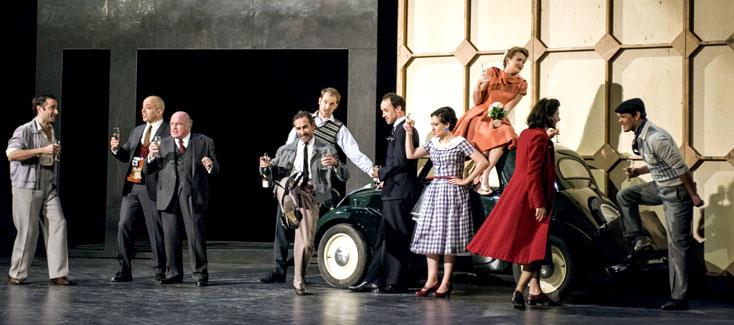 l'Opéra royal du Château de Versailles accueille la comédie-ballet de Lully