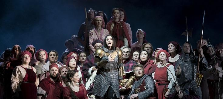 """une rareté à Vienne : """"La pucelle d'Orléans"""", opéra de Tchaïkovski"""