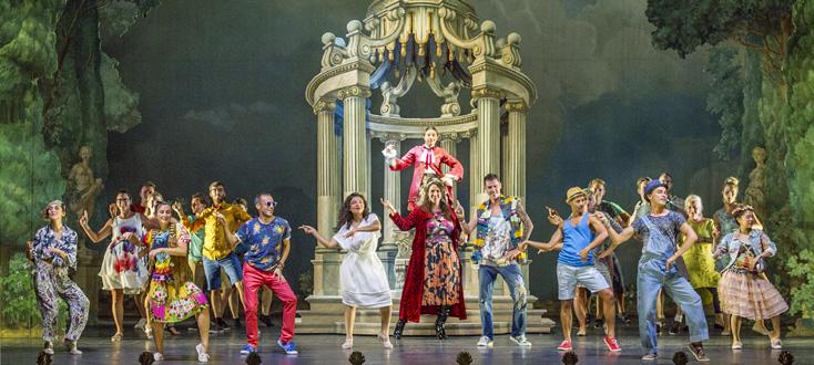 reprise peu concluante du ballet de Natalie Van Parys au Festival d'Innsbruck