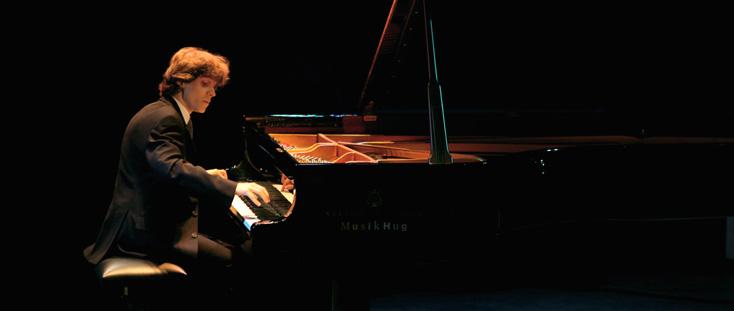 le jeune pianiste polonais Rafał Blechacz au Verbier Festival and Academy 2008