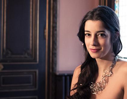 Le soprano Raquel Camarinha chante Attahir à l'Académie Festival des Arcs 2019