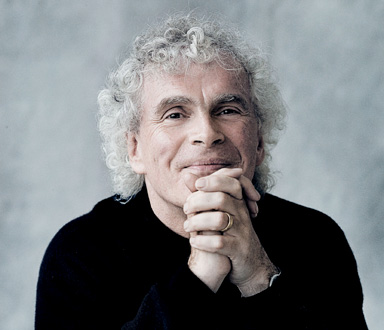 Simon Rattle à la tête des Berliner Philharmonker à Paris