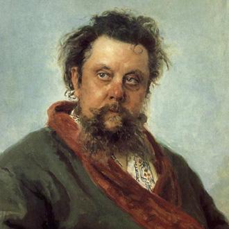 le compositeur Modest Moussorgski peint par Ilya Répine