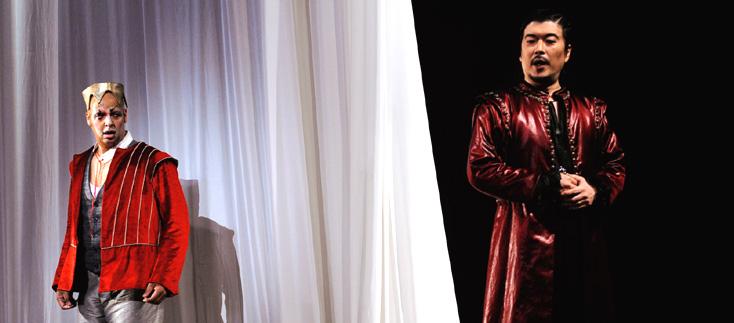 Rigoletto (Verdi) scénographié par François de Carpentries à l'Opéra de Tours